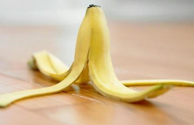 أنا وقشرة الموز