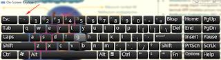 tombol simbol yang digunakan untuk blok code (ingat bukan tanda kutip)