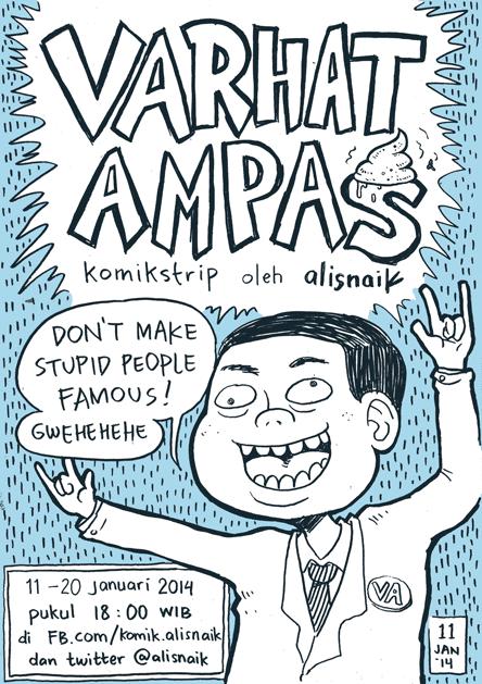Komik Alisnaik - Varhat Ampas