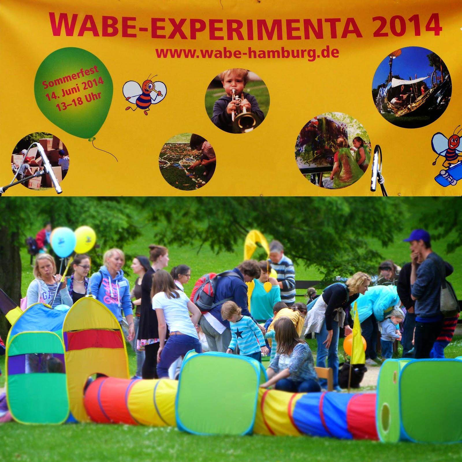 Kinderfest Hamburg, Wabe Experimenta, Wabe Kinderfest, Sommerfest für Kinder