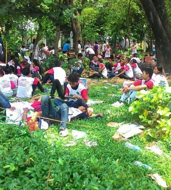 Injak Rumput dan Taman Juga Terjadi di Parade Kebinekaan