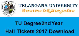 tu ug 2nd year hall tickets 2017 download