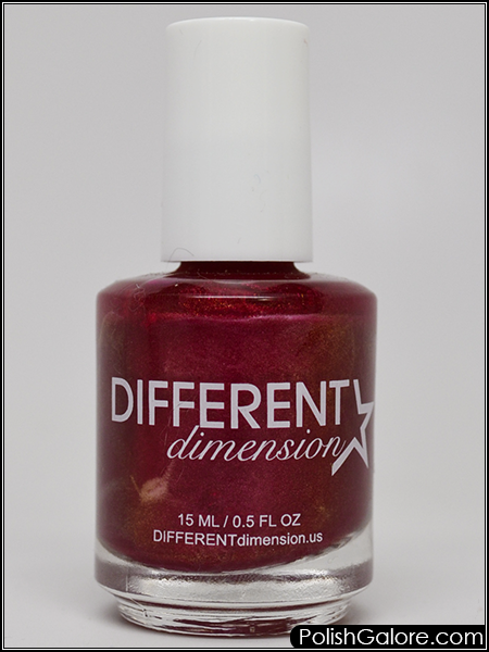 Today I Pulled Out Diffe Dimension Reflection From A Box Of Polish By My Desk This Is Bright Berry That Has Color Shifting Pigment Which Looks