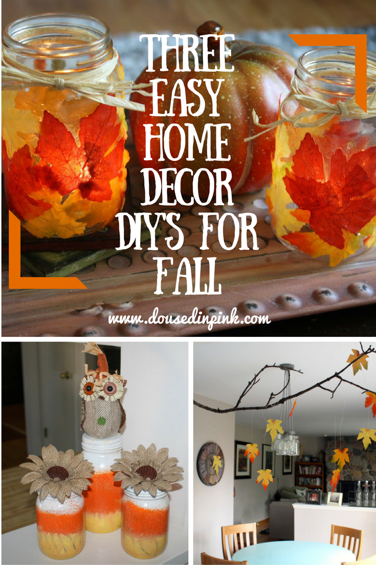 three easy home decor diy s for fall a linkup doused in pink i hope you enjoyed these diy s let me know if you give them a try