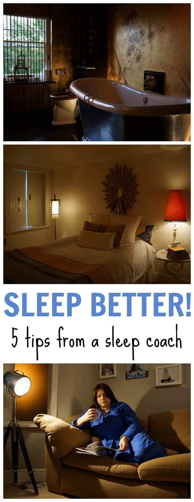 Sleeping better: 5 top tips from a sleep coach to the Olympians. If you have trouble falling asleep this post gives several tips how to get a better sleep routine.