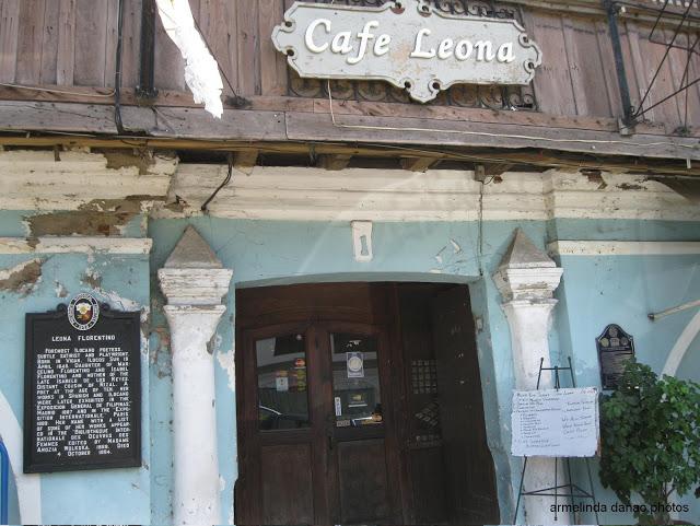 cafe leona vigan ilocos