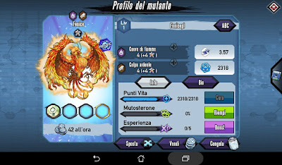 Mutants: Genetic Gladiators video N°413 Fusion Phoenix - Fusione Fenice