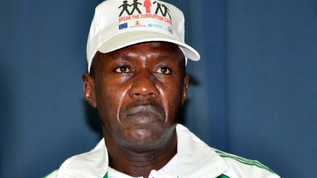 EFCC Boss Explains Why GEJ Hasn't Been Arrested