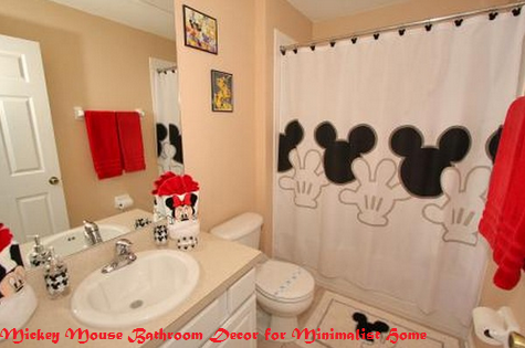 Mickey Mouse Bathroom Decor For Minimalist Home Formation Decoration Interieur 2017