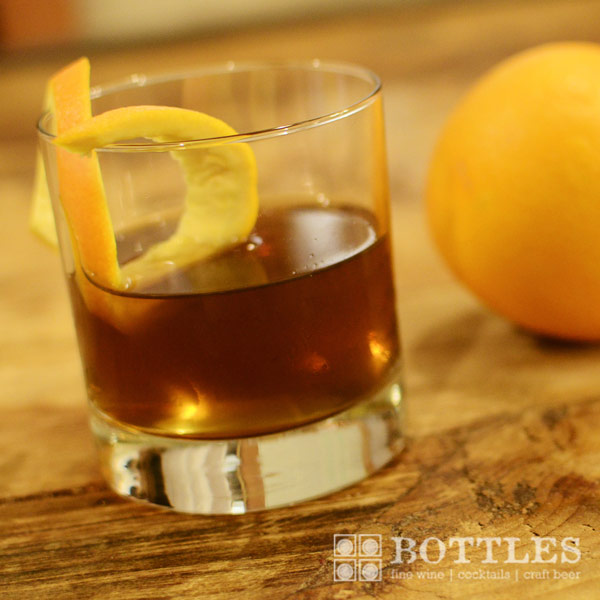 rye whiskey cocktail bonal orange bitters