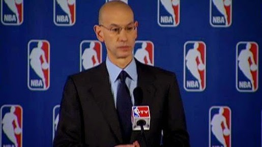 ADAM SILVER: DONALD STERLING BANNED FROM NBA FOR LIFE EFFECTIVE IMMEDIATELY