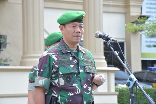 TNI Tarik 100 Prajurit dari Polda Jambi