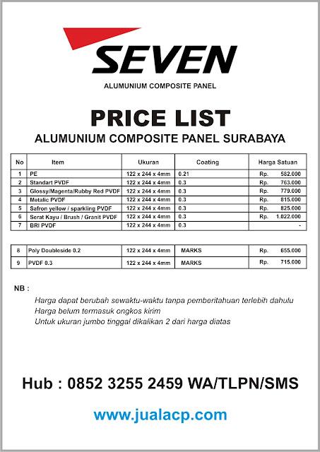 harga acp seven surabaya | harga acp murah surabaya