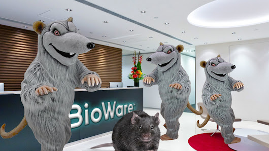 Bioware Staff Replaced With Giant Rats