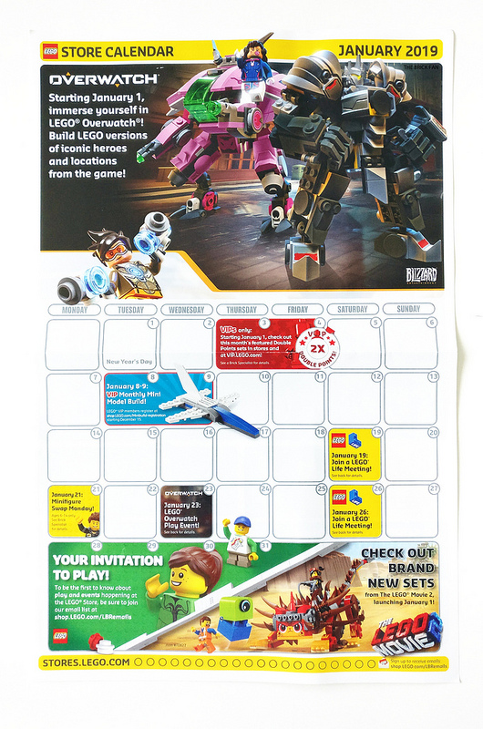Anjs Brick Blog Lego January 2019 Promotional Calendar Revealed
