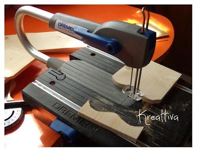 come utilizzare il motosaw dremel per creare mensolina porta spezie
