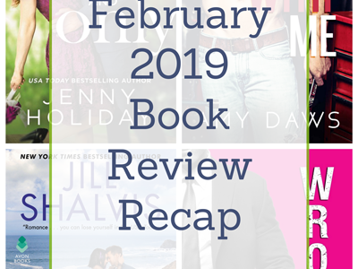 February 2019 Book Review Recap