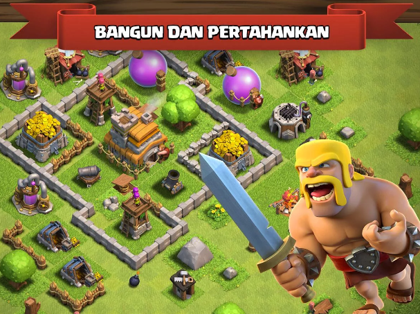 Clash of Clans Mod  APK Private Server FHx