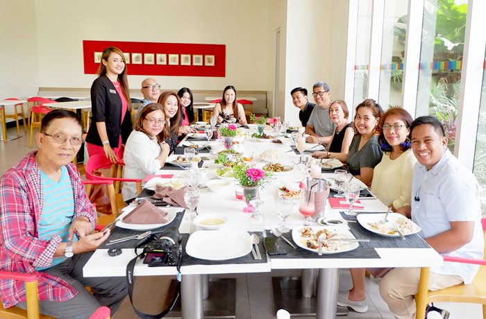 Despedida lunch for Ms. Patty Tan with Davao Media and bloggers