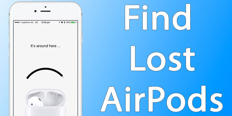 find lost airpods