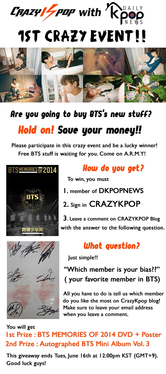 Win BTS signed albums!!!! :: Daily K Pop News | Latest K-Pop