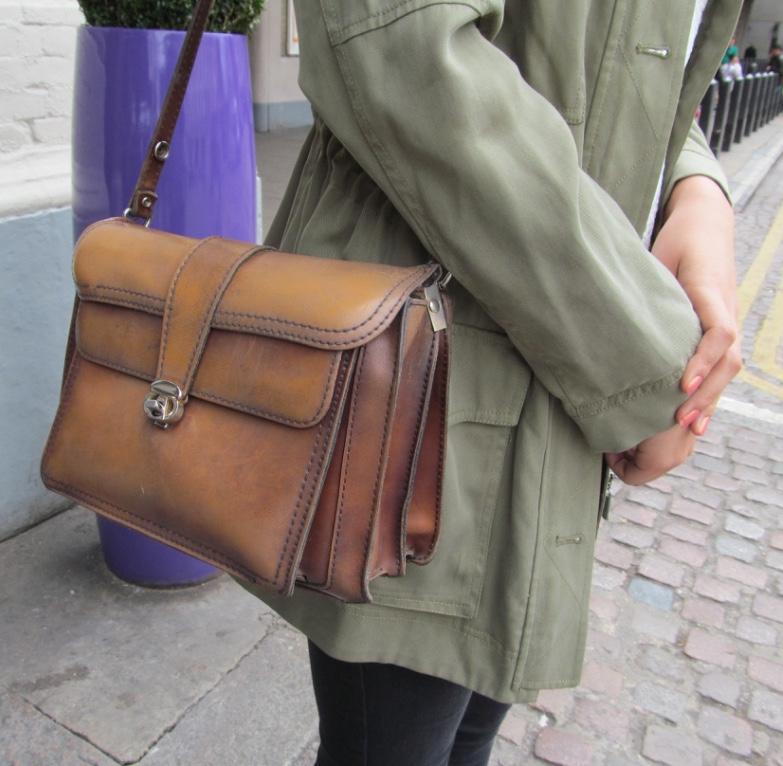 vintage satchel