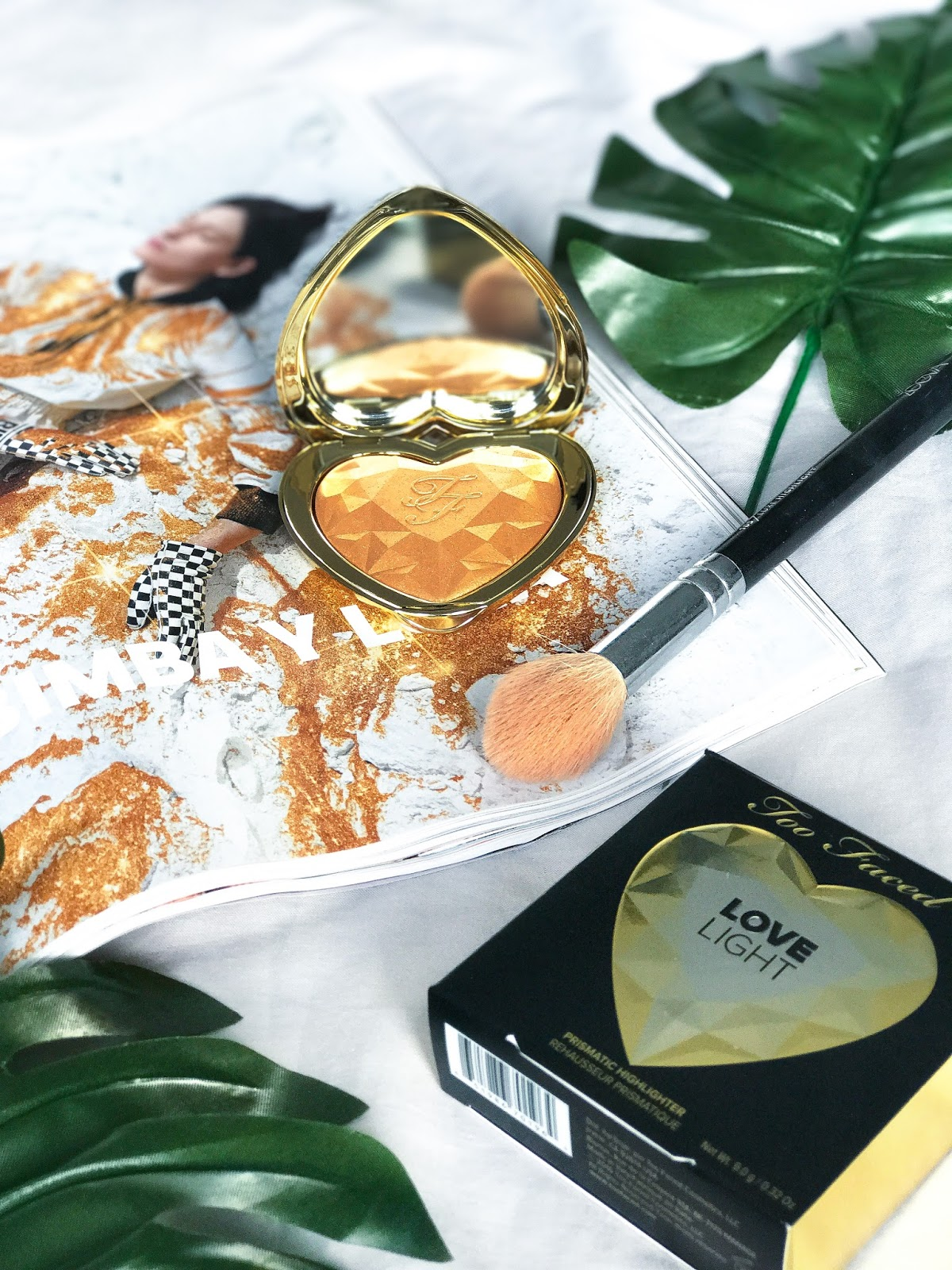 Too Faced You Light Up My Life Highlighter Review Gold