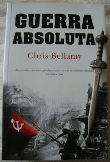 Portada del libro Guerra absoluta, de Chris Bellamy