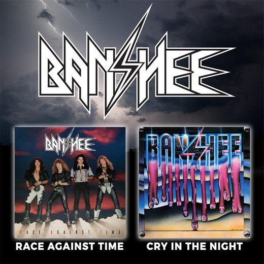 BANSHEE - Race Against Time / Cry In The Night [digitally remastered +1] (2016) full