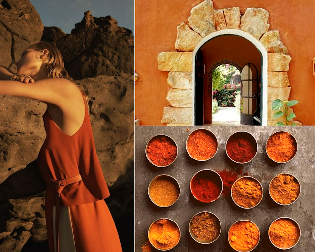 Sophie Blake NY Jewelry Mayakoba Collection Terra Cotta Mood Board