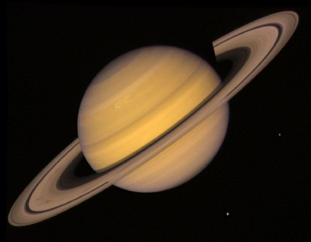 the biggest planet is saturn - photo #14