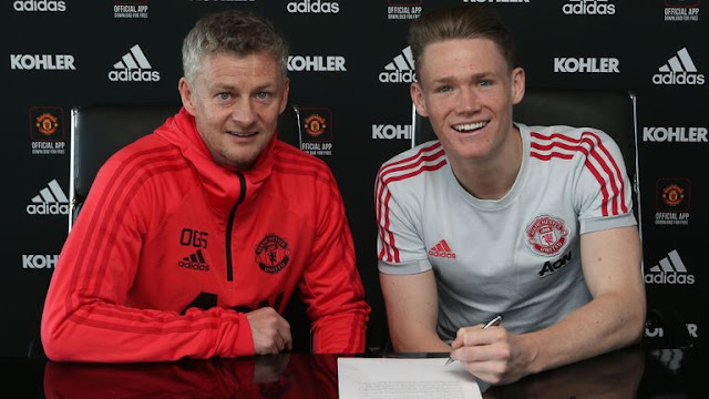 Manchester United Ole Gunnar Solskjaer And Scott McTominay