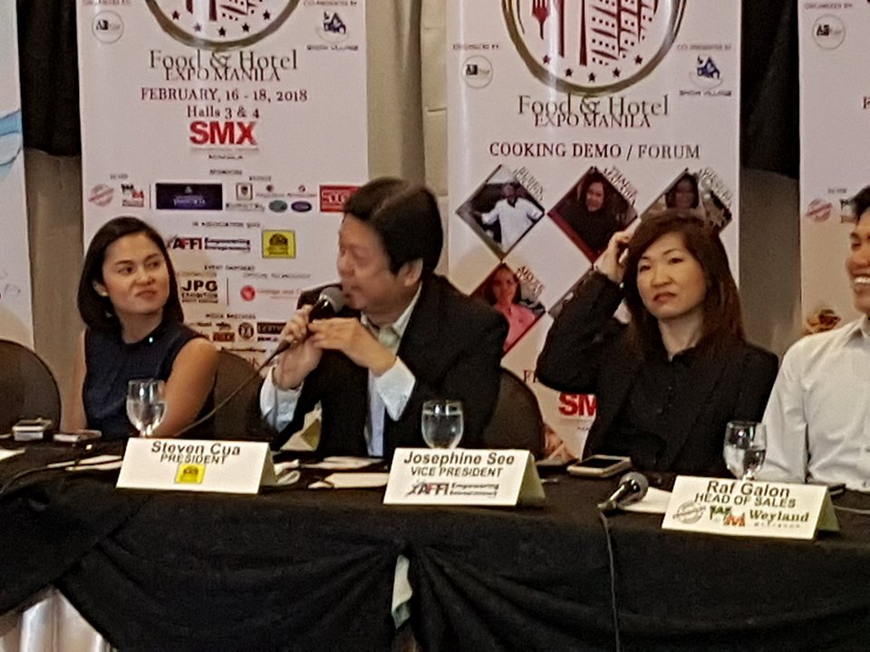 Ad Asia Conventions & Exhibitions Int'l. Corp. launches a new trade show  called Food & Hotel Expo Manila (FHEM) which will be held on the 16th-18th  of Feb.