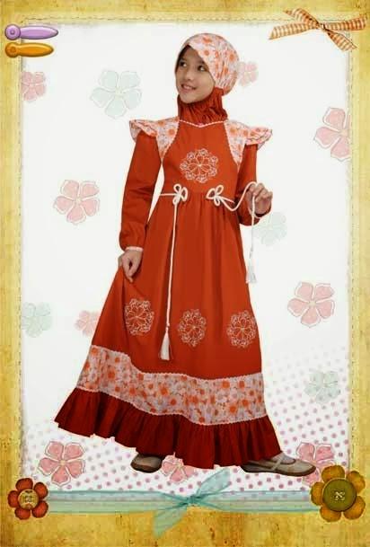 Desain Busana Muslim Anak Perempuan Model Sekarang