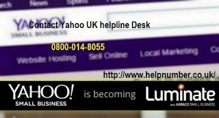Yahoo helpline