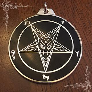 Le Sigil de Baphomet, symbole officiel de l'Eglise de Satan d'Anton Szandor Lavey