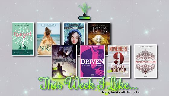 This Week I Like... #15 dal 17 al 23 Ottobre