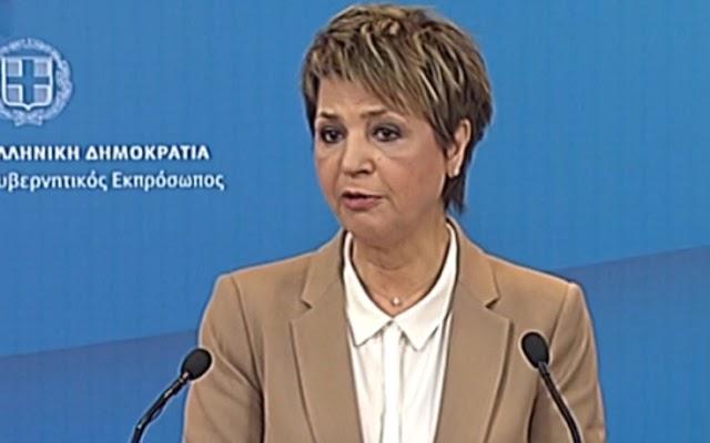 Όλγα Γεροβασίλη: «Η ελληνική κοινωνία μεταδίδει μήνυμα αλληλεγγύης, ανθρωπιάς και αξιοπρέπειας»