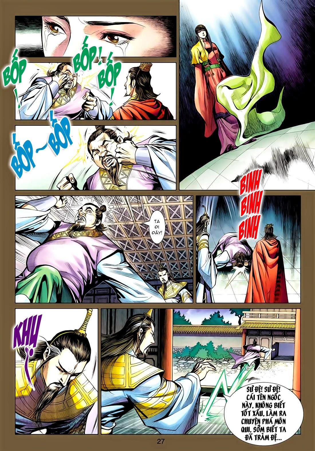 Anh Hùng Xạ Điêu anh hùng xạ đêu chap 77: thế thượng tối cường võ công trang 27