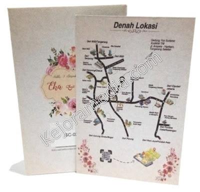 desain undangan pernikahan model amplop indramayu