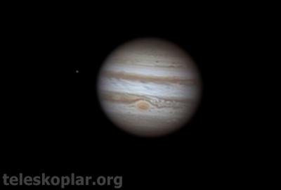 teleskop ile jüpiter gözlemi