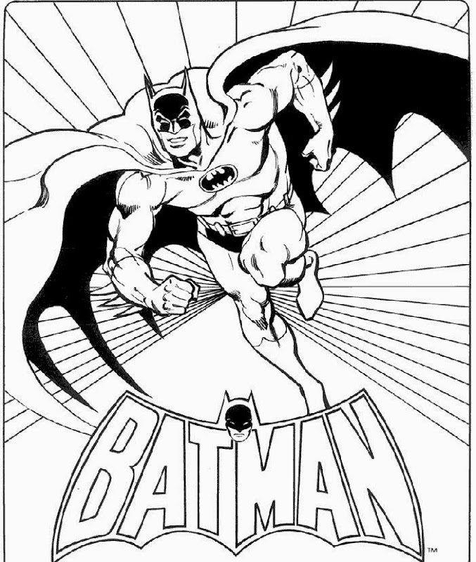 Batman Coloring Pages  Welcome to BoxFont