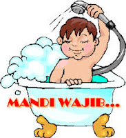 tata cara mandi janabah