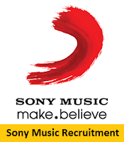 Sony Music Recruitment 2017-2018