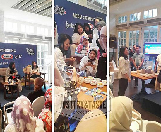 Talk Show + Cooking Demo 'Berbagi Ceria' Bersama Kraft