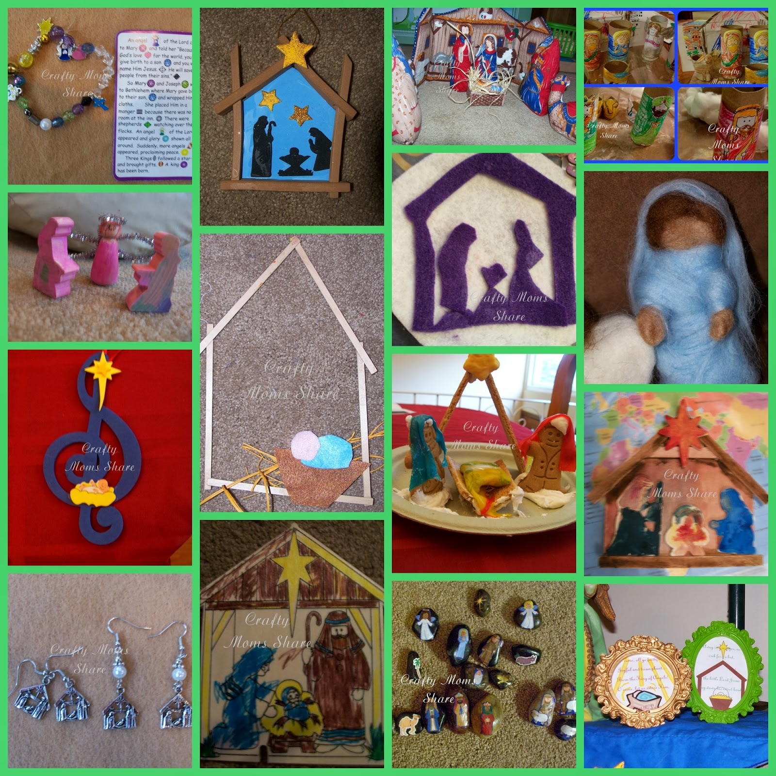 Crafty Moms Share Christmas Crafts Round Up From 2011