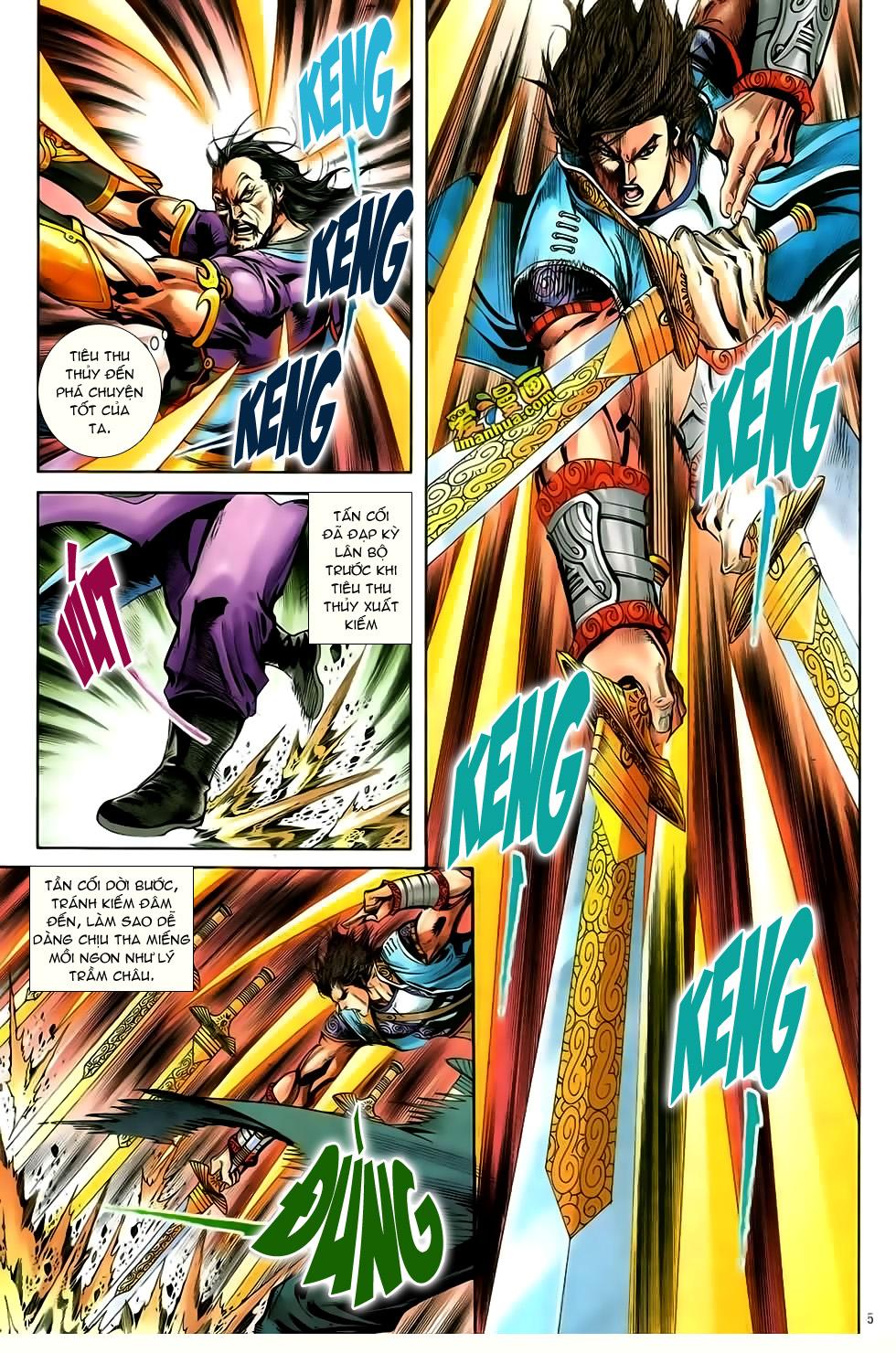 Đại Hiệp Truyền Kỳ (Thần Châu Hậu Truyện) chap 50 - Trang 4