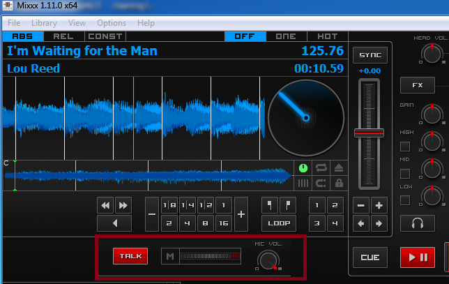 How To DJ In Second Life Using Mixxx - mic control