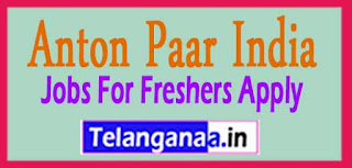 Anton Paar India Pvt. Ltd Recruitment 2017 Jobs For Freshers Apply