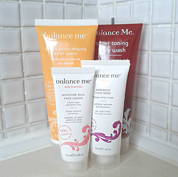 Balance Me products